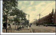 Postcard ~1910/20 LIVERPOOL England Tram Strassenbahn Princes Avenue Britain AK