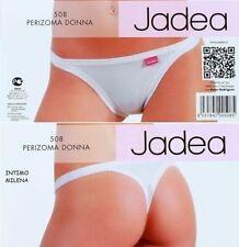 Slip Perizoma Donna Ragazza in cotone della Jadea Art. 508 2° White