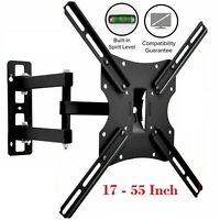 TV Wall Bracket Swivel Tilt Mount For TV LED LCD Plasma 17 29 32 40 42 55 Inch