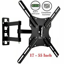 TV Wall Bracket Swivel Tilt Mount For TV LED LCD Plasma 17 29 32 40 42 55 Inch