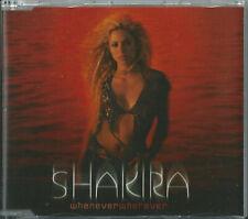 Shakira - Whenever, Wherever 2001 Australian Cd W/ Stickers Aka Shakira Ripoll