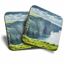 2 x Coasters - Cliffs of Moher Ireland  #44627
