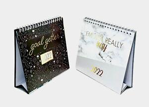 2022 Calendar Slogans Desk Calendar Desktop Office School Table Calendar Xmas