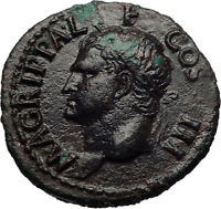 Marcus Vipsanius Agrippa Augustus General Ancient Roman Coin of CALIGULA i69264