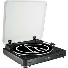 Audio-Technica Fully Automatic Bluetooth Wireless Belt-Drive Stereo Turntable Bl