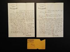 1879 Old Established Law of Office of A. C. Smith letter with envelope