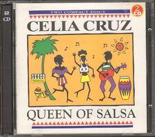 CELIA CRUZ Queen of Salsa 2 CD 46 track WORLD CUBA