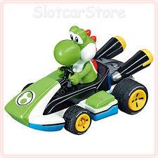"""Carrera GO 64035 Nintendo Mario Kart 8 """"Yoshi"""" 1:43 Slotcar Auto"""