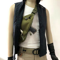 Tactical Invisible Chest Sling Bag Anti-theft Thin Agent Spy Gun Holster Pouch