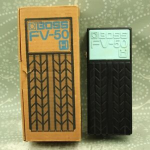 BOSS FV-50H Foot Volume Pedal High impedance With Original Box EE30670