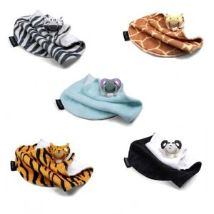 Dumforter 3 in 1 Characterised Soother, Teether & Comfort Blanket for Baby