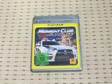 Midnight club los angeles Complete Edition para PlayStation 3 ps3 PS 3 * embalaje original * p