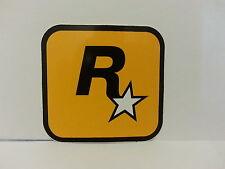 3x Brand New Original Rockstar Games Logo Sticker