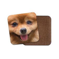 Pomeranian Face Coaster - Cute Dog Chihuahua Puppy Funny Mum Sister Gift #8660