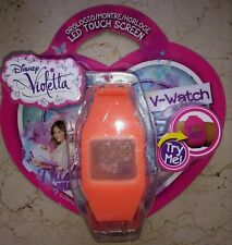 Orologio da polso Violetta V Watch Led Touch Screen Gig Arancione Orange Clock