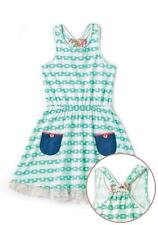 Matilda Jane Lakeside Sun Dress 10 Racerback Green Sundress Happy & Free 435 Nwt