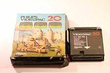 VINTAGE -- PHILIPS G7000 CONSOLE COMPUTER -- VIDEOPAC 20 -- STONE SLING GAME