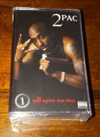 2PAC  All Eyez On Me 2 x tape set Translucent Red LIMITED 3000 copies IN STOCK