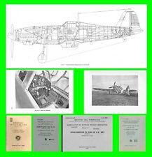 COLLECTION - FIAT G55 CENTAURO AVIAZIONE REGIA AERONAUTICA AIRCRAFT Manual - DVD