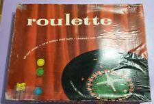 Vintage Berwick Roulette No 4 Game - 1960's Casino Full Roulette Set No. 4 🎰