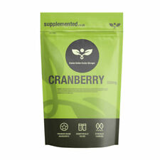 CRANBERRY TABLETS 5000mg  UTI cystitis ?UK Made ?Letterbox Friendly