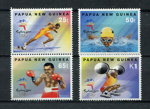 s8547) PAPUA & NEW GUINEA MNH** Nuovi** 2000, Olympic Games Sydney 4v