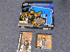 Virtua Cop 2 + Virtua Gun Komplett Set Sega Saturn Pal Version RAR