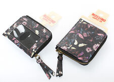 Wallet and Coin Change Purse Lot Set Black Floral by Mossimo Supply Co