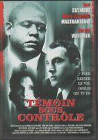 Temoin Sous Controle Dvd Forest Whitaker Tom Sizemore