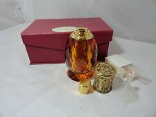 ALEXANDRIA'S CRYSTAL FRAGRANCE CATALYTIC  LAMP AMBER PINEAPPLE DESIGN PERFUME