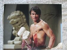 TONY JAA Signed 11x14 inch photo DC/COA/HOLO (TOM YUM GOONG)
