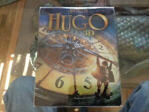 HUGO STEELBOOK 3D ZAVVI Exclusive 3-Discs Region Free Blu-ray NEW, FREE SHIPPING