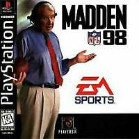 Madden NFL 98 - Electronic Arts Football - Sony PlayStation 1 PS1