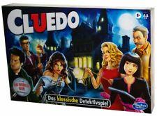 Hasbro Cluedo spannendes Detektivspiel/Familienspiel/Brettspiel für 2-6 Spieler