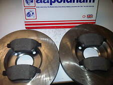 CITROEN XSARA PICASSO 2x NEW 283mm VENTED FRONT BRAKE DISCS & PADS 1999-2006