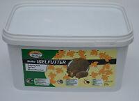 Quiko Igelfutter 3 kg Eimer Hochwertige Vollnahrung für Igel