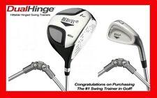 Medicus training Golf clubs--Dual Hinge 460cc Driver+ 7 Iron (Men's Right Hand)