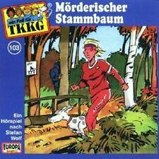 """TKKG """"MÖRDERISCHER STAMMBAUM (FOLGE 103)"""" CD HÖRBUCH NEUWARE"""