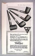 The Wellington Pipe PRINT AD - 1916 ~~ Wm. Demuth, Brighton, Windsor, Stratford