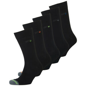 Superdry NEW Men's 5 Pack Socks - Black BNWT