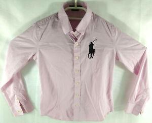 Ralph Lauren  Chemise Rose Femme Custom Fit Taille S  Envoi rapide et suivi