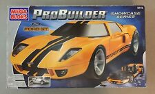 Mega Bloks Probuilder Showcase Series Yellow Ford GT Set 9710 Brand New 2003