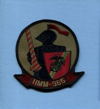 HMM-365 BLUE KNIGHT USMC MARINE CORPS CH-46 Subdued Helicopter Squadron Patch