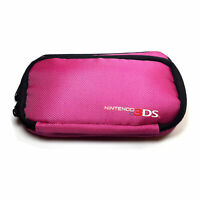 PowerA Nintendo 3DS Travel Carrying Bag Case for Handheld Gaming Consoles - Pink