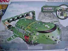 Thunderbirds Thunderbird 2  Mole Building Set Metal  15 INCHES NEW Sealed +Tools
