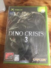 Xbox 1er Génération  Dino Crisis 3/ntsc/jap/Neuf /New And Sealed