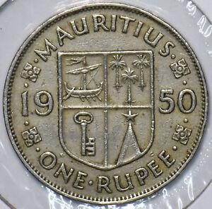Mauritius 1950 Rupee 151578 combine shipping