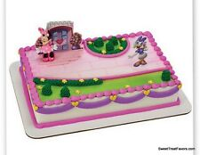 Minnie Daysy Cake Decoration Party Supplies TOPPER KIT Favor Shopping Helpers NE