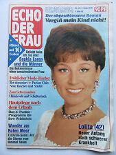 Echo der Frau 37/1976, Sophia Loren, Matthias Habich, Tony Curtis, Lolita