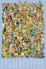 Simpsons-Cast Names Poster Print, 24x36